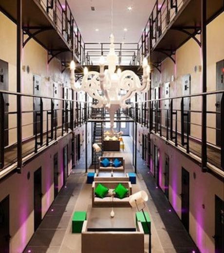 cet hotel de luxe est une ancienne prison